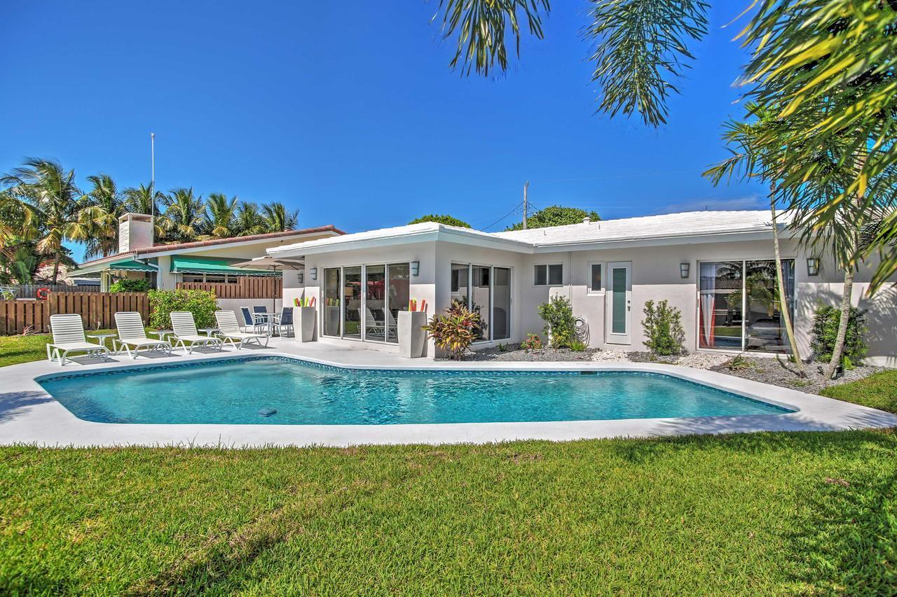 Upscale 3BR Wilton Manors House w Heated Pool