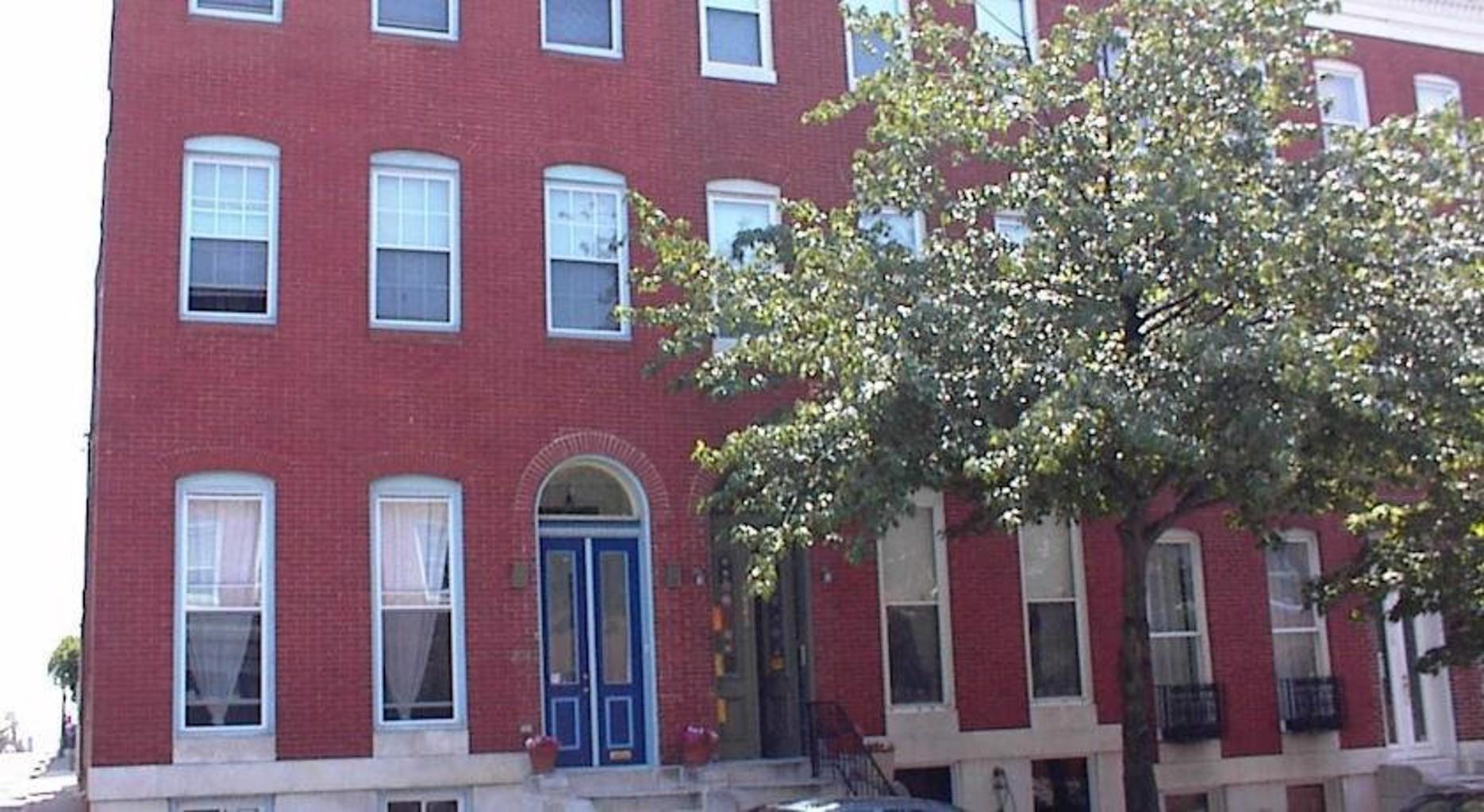 Blue Door on Baltimore