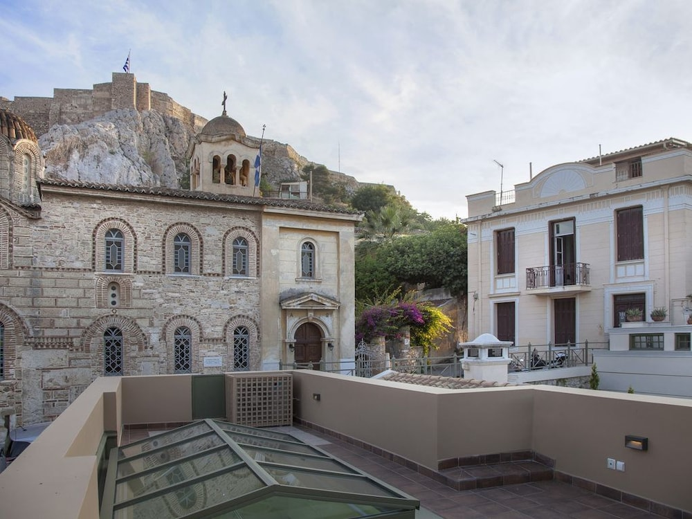 Tripodon Plaka In the shade of Acropolis by GHH
