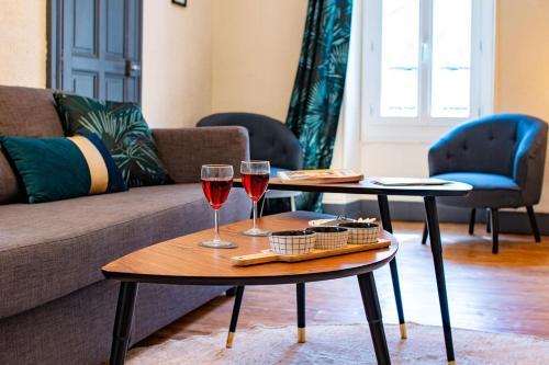 Appartement Privé Climatisé entre Arènes et Maison Carrée