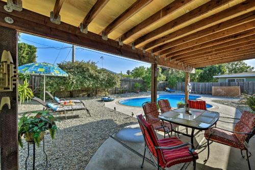 Updated Sacramento Home with Grill Patio and Pool