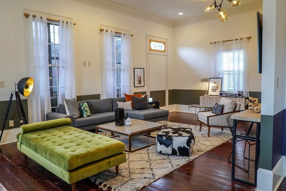 Charming 3br 2ba Home In Historic Treme By Domio