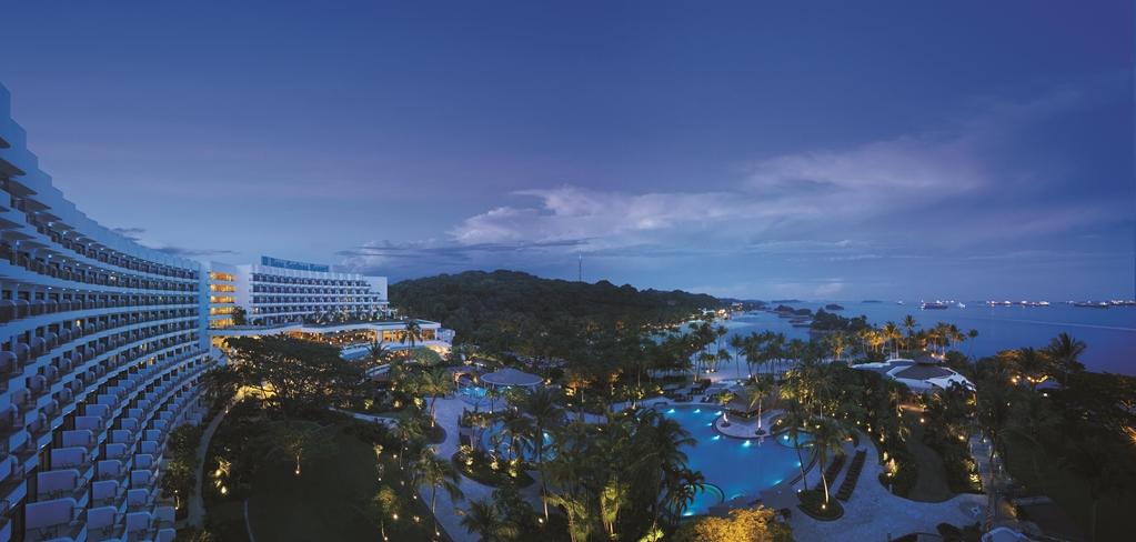 Shangri La's Rasa Sentosa Resort & Spa