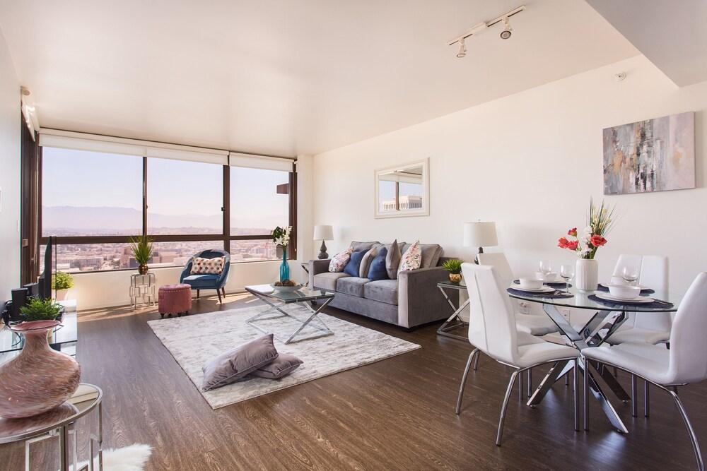 New Urban Downtown LA Luxury Apartment