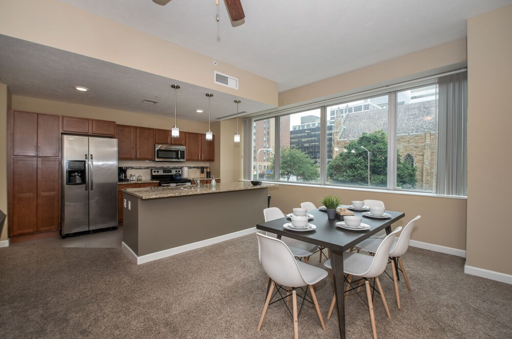Downtown Cleveland Corp Rentals by NamaStay