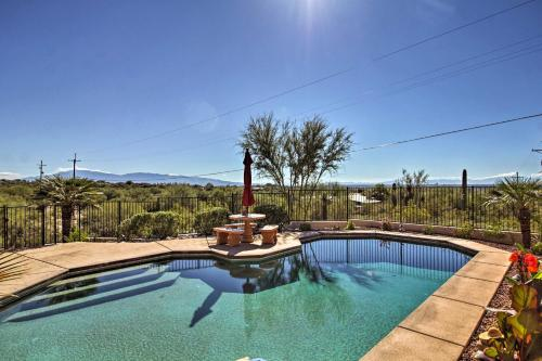 Updated Tucson Home with Panoramic Mtn Views and Pool