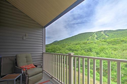 Lincoln Condo w Balcony & Mtn Views Resort Perks