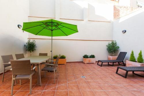 Key San Pau House Terrace Barcelona