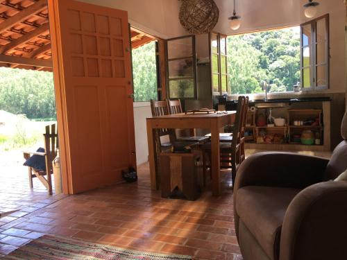 Sitio da Casa Azul no Macuco