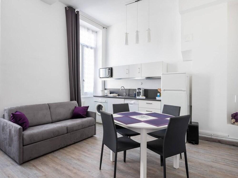 L'améthyste Appartement Cosy au Coeur de Lyon
