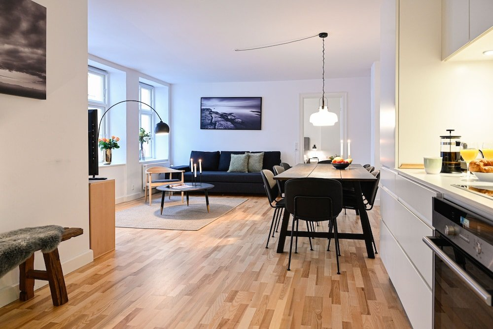 Cozy 2 bedroom apartment in downtown Copenhagen 350 meters to the metro station