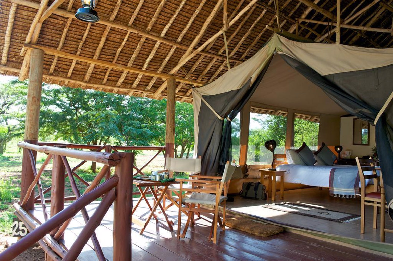 Gallery image of Voyager Ziwani Tented Camp