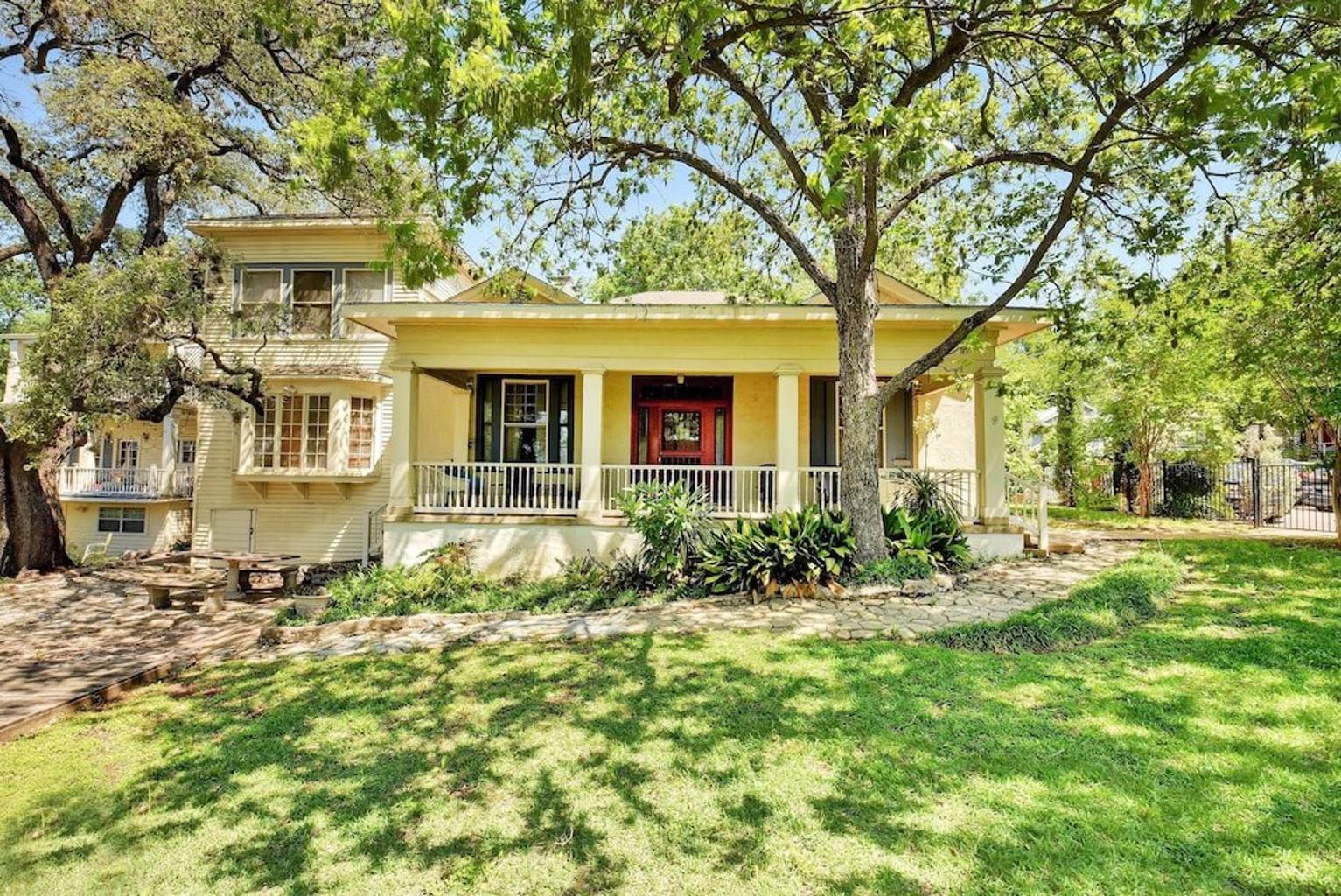 Historic Austin 5 Bedroom Home