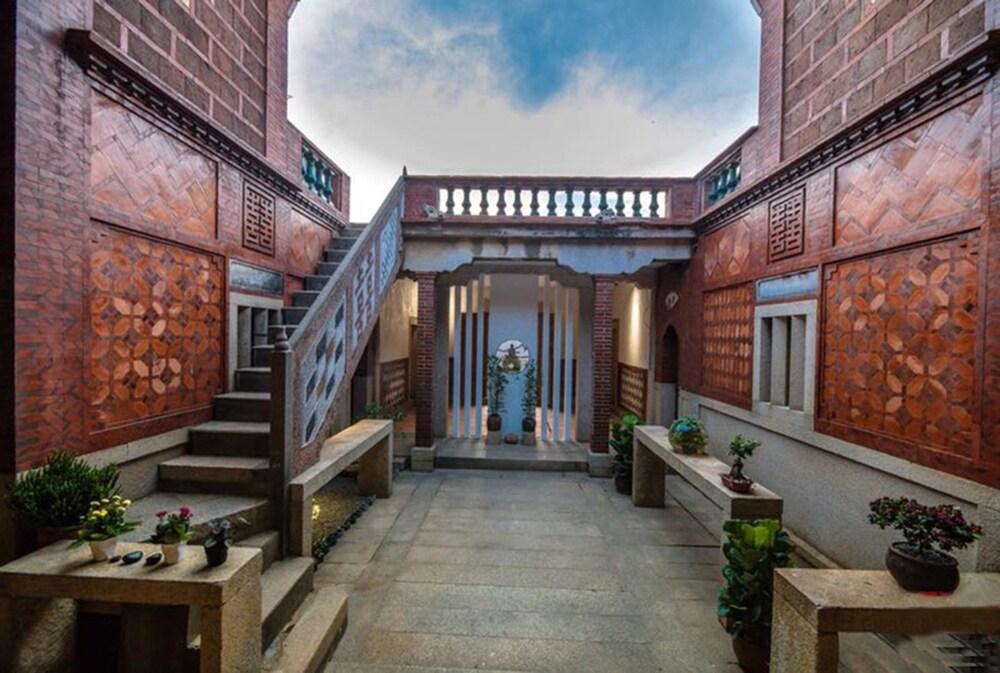 Kinmen redbrick houses across Hope