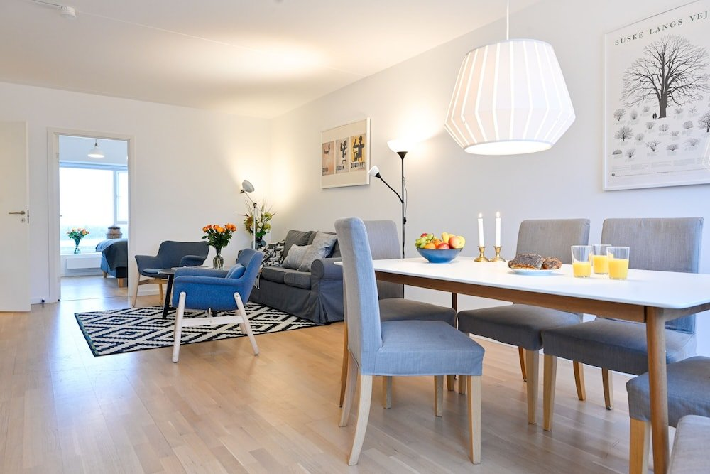 Three bedroom Apartment with a Balcony in Copenhagen Ørestad near metro station
