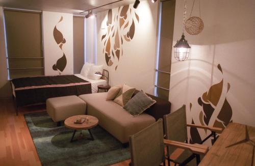 Art Apartment Aoca Sanno Olive