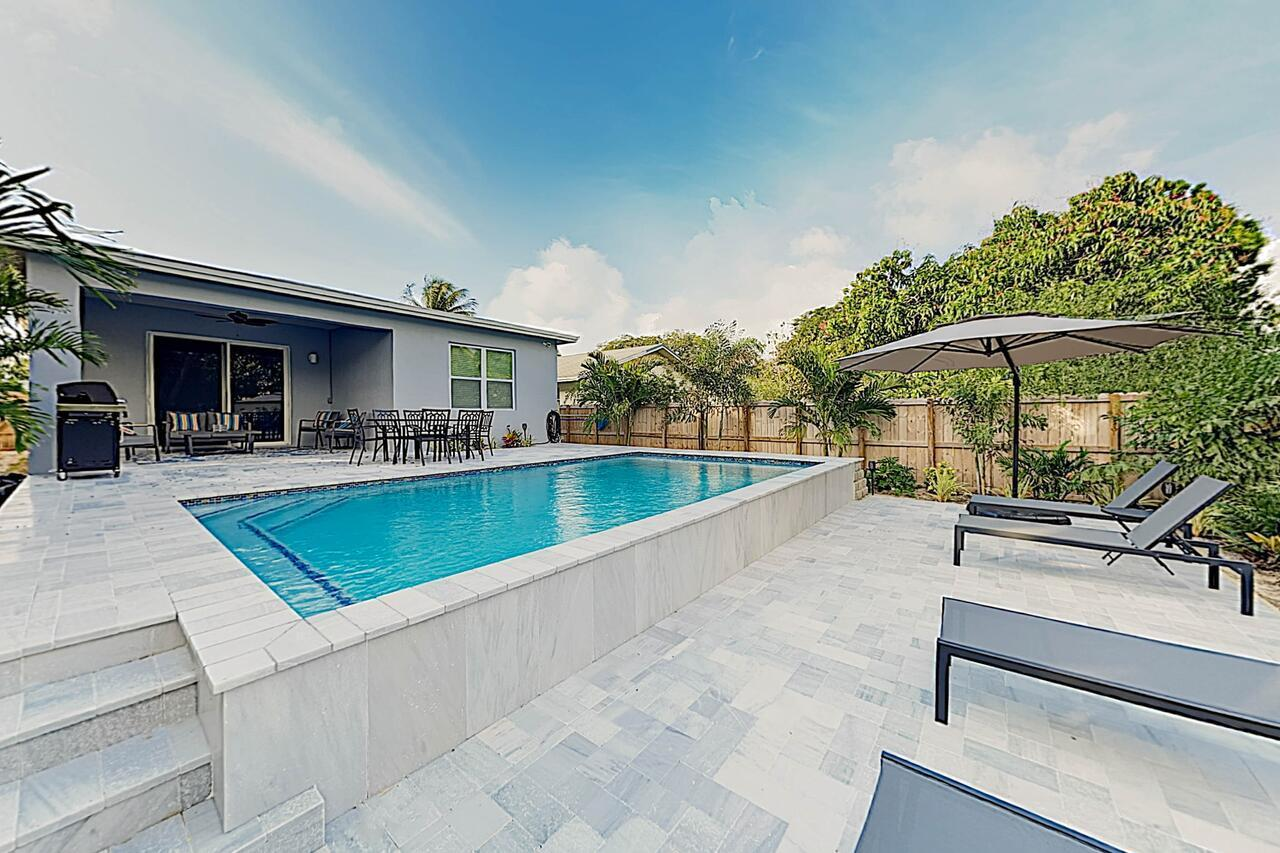 New Listing Beautifully Renovated W Pool 3 Bedroom Home