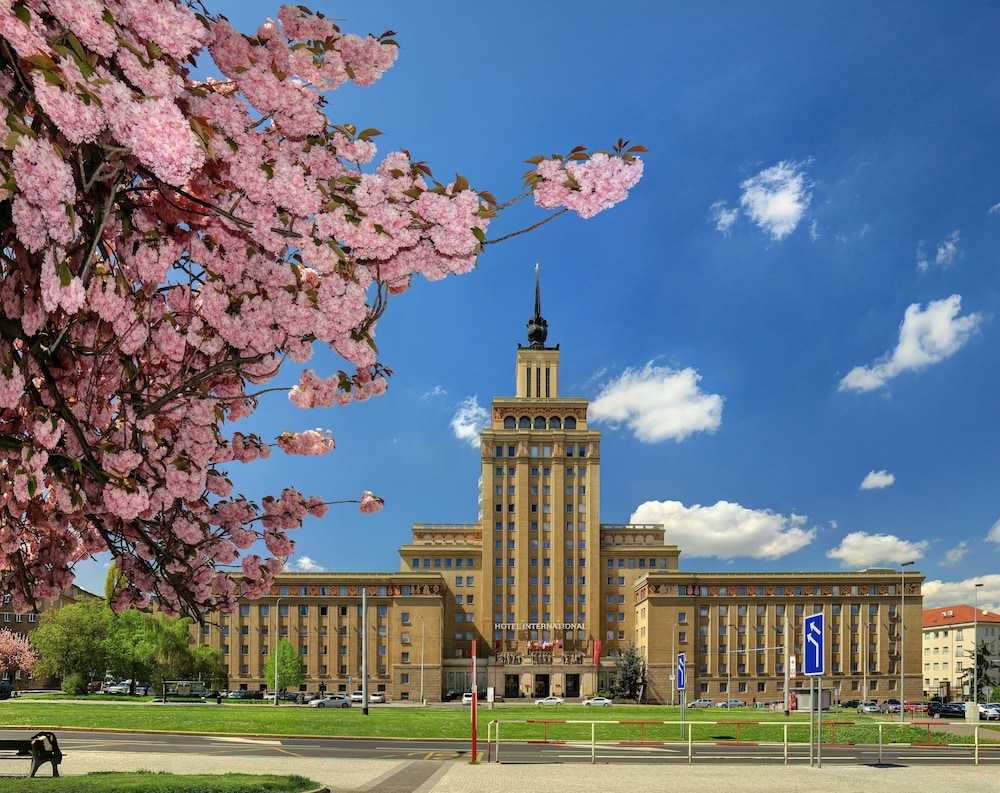 Hotel International Prague Free Garden Breakfast & Parking till 31 August 2020