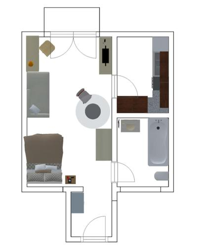 HSH Serviced Studio Apartment Zürich City Bellevue by HSH Hotel Serviced Home