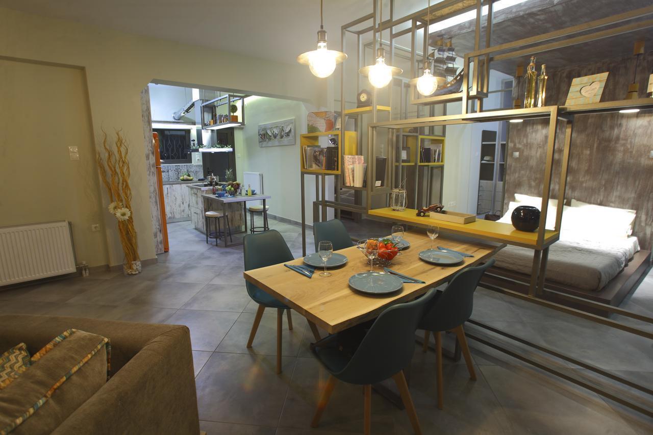82 m2 Loft Urban Apartment Gazi Votanikos