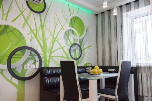 The best apartment in Kiev Black & White