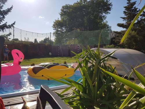 Pool & Lake Holiday Home