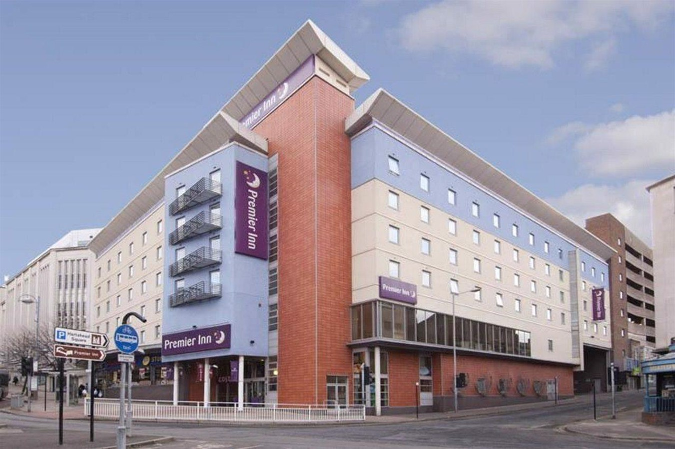 Premier Inn Sheffield City Centre Angel Street