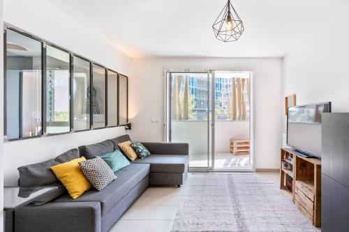 Port Marianne: Appartement type loft avec parking et terrasse Class Appart
