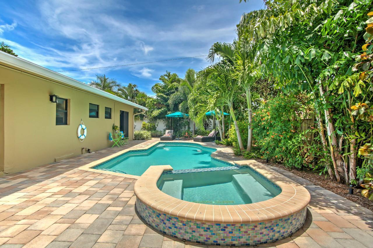 Ft Lauderdale Area Home with Pool 3 Miles to Beach