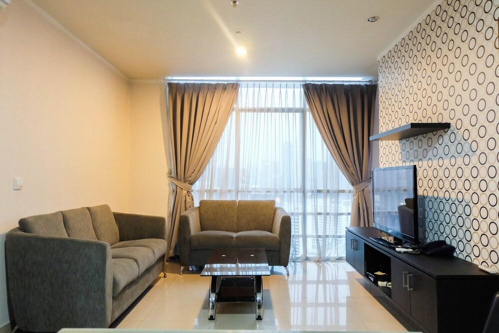 Spacious 3BR Apartment at Sahid Sudirman Residence