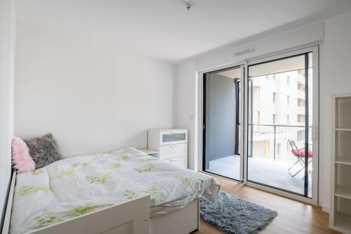 Large modern apartment with balcony Strasbourg