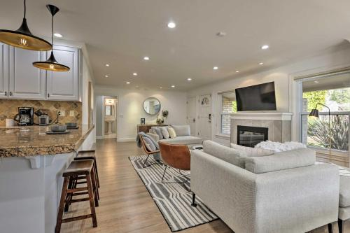 Chic Palo Alto Home with Yard and Central Location