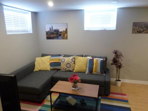 Fantastic and Modern Downtown 1 Bed Basement Apt. parking Wi Fi and Netflix included