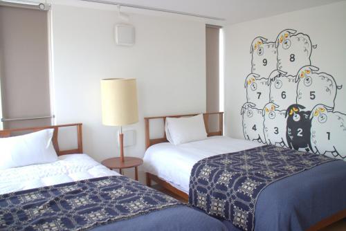 Art Apartment Aoca Sanno Sheep