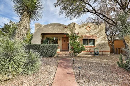 Serene Tucson Bungalow with Patio 2Mi to Downtown