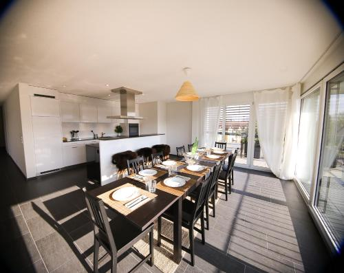Spacious Penthouse Apartment in Zurich City 3BR incl. parking