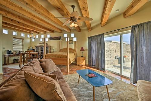 Cozy Corrales Studio w Mtn. Views Near Santa Fe