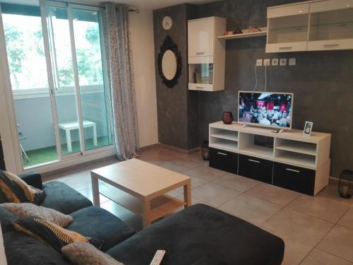 Appartement de charme spacieux et bien équipé.
