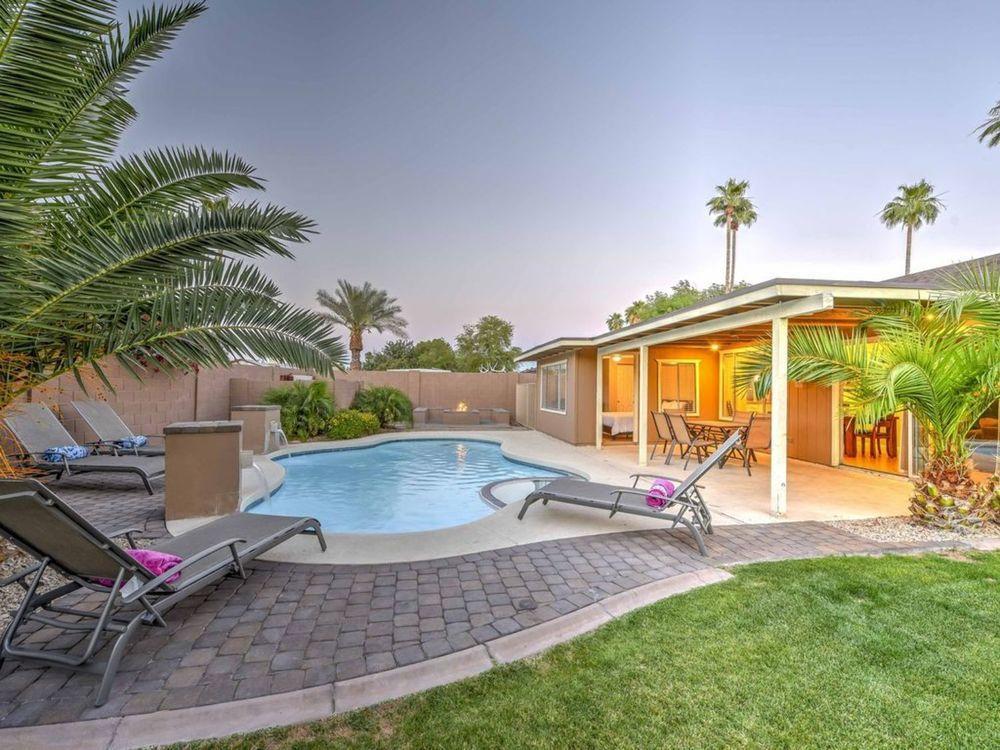 Scottsdale Mesa ASU Sleep 16 Estate ️ Best Spring Baseball Pool Spa Fire Pit Best GolfDineShop
