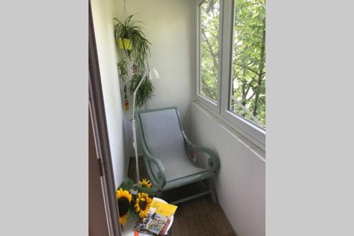 Sonnige 2 Zimmerwohnung mit Veranda