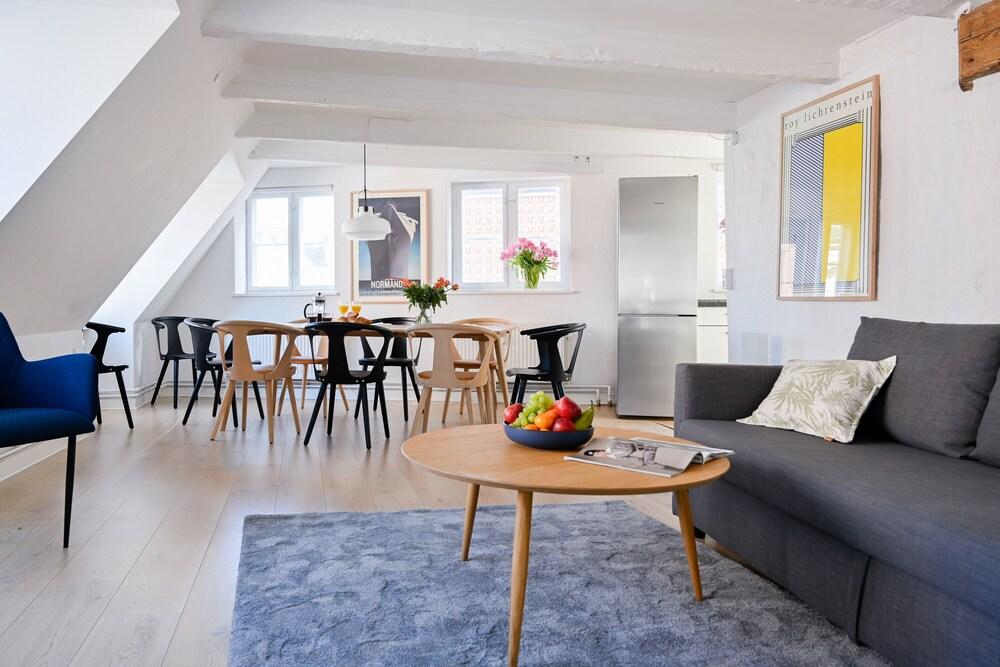 A Duplex Apartment in the Center of Copenhagen