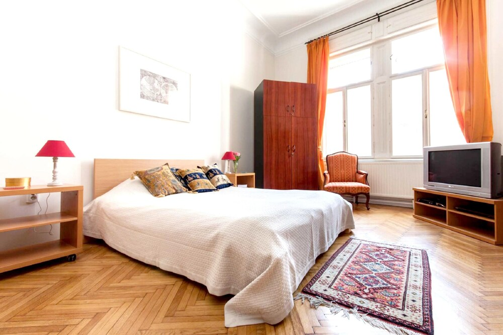 Apartment With 3 Bedrooms in Budapest With Wonderful City View Terrace and Wifi