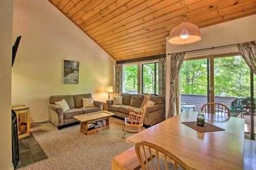 Village of Loon Mtn Condo w Fireplace Balcony