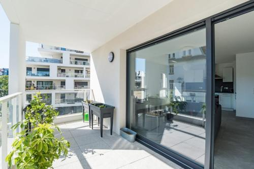 Pretty one bedroom apartment of 70m with balcony Strasbourg