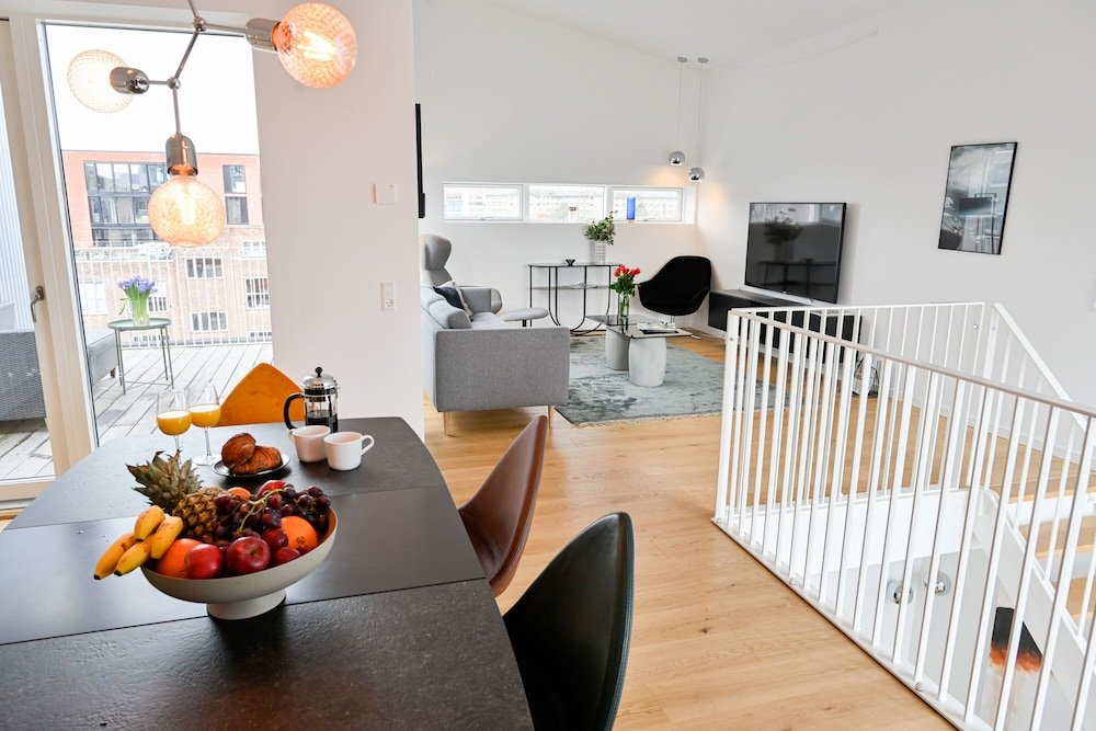 New Luxury 3 bedroom Apartment in Copenhagen Nordhavn