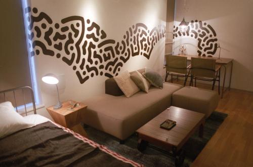 Art Apartment Aoca Sanno Line