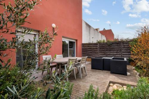 Cosy flat with garden in a modern villa in Malbosc Montpellier Welkeys