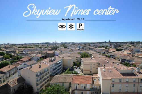 Skyview Nimes Center Appart 53_10 Parking Clim