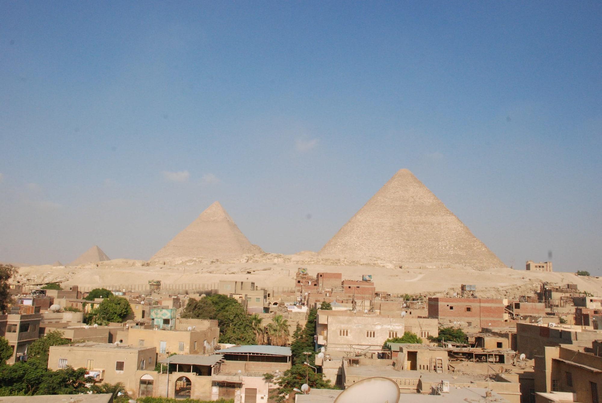 Sunny Pyramids View