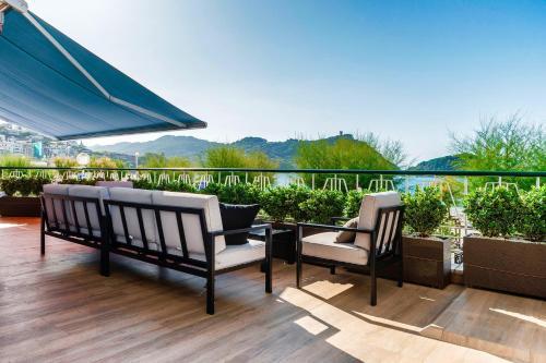 La Concha Beach Deluxe Private Entrance & Terrace